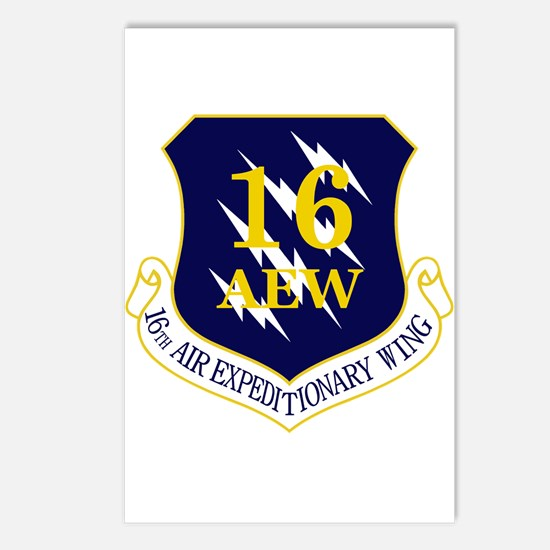 16th AEW Postcards (Package of 8)