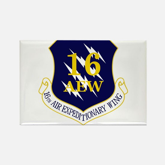 16th AEW Rectangle Magnet