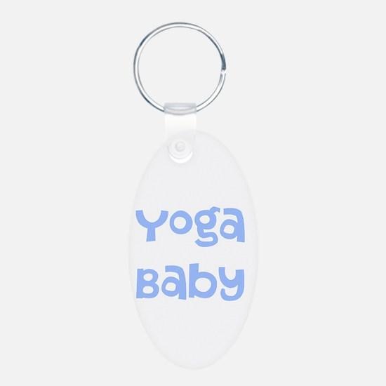 Yoga Baby Blue Keychains