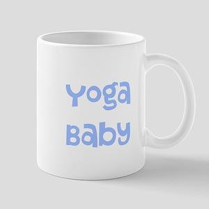 Yoga Baby Blue Mug