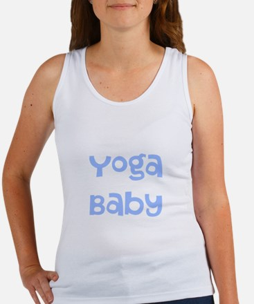 Yoga Baby Blue Tank Top