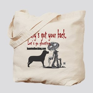 Baby's Got Your Back Tote Bag