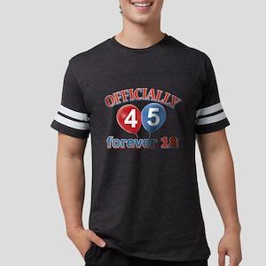 officially 45 forever 18 Mens Football Shirt