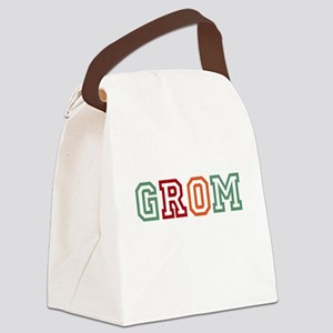 GROM Dark Canvas Lunch Bag