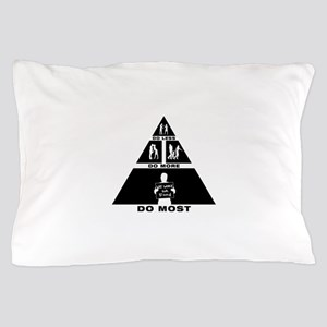 Work For Food Pillow Case