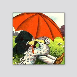 Under that umbrella Sticker