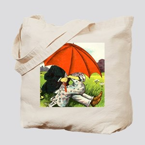 Under that umbrella Tote Bag