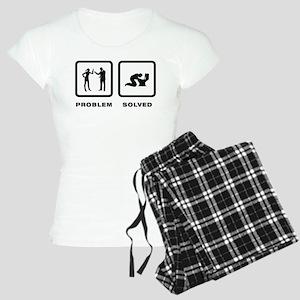 Throwing Up Women's Light Pajamas