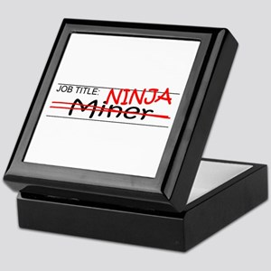 Job Ninja Miner Keepsake Box