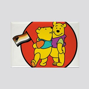 Bear pride Rectangle Magnet