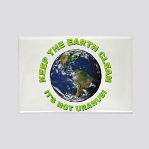Keep the Earth Clean Rectangle Magnet