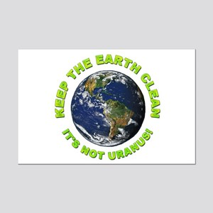 Keep the Earth Clean Mini Poster Print