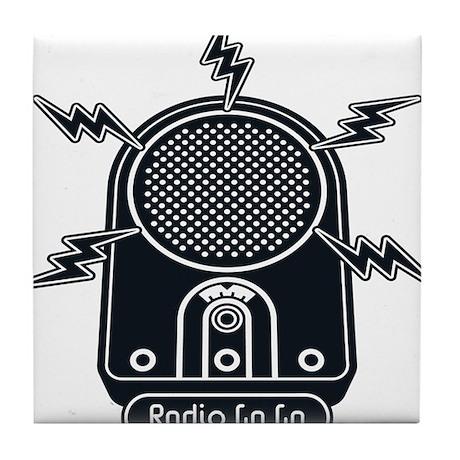 Radio Ga Ga Tile Coaster
