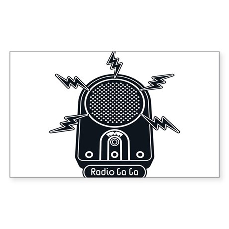 Radio Ga Ga Sticker