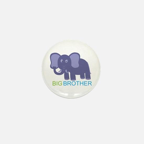 Big Brother Elephant Mini Button