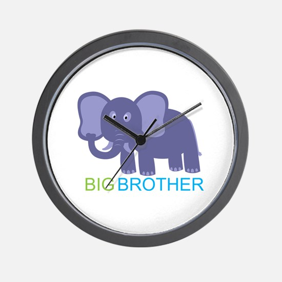 Big Brother Elephant Wall Clock