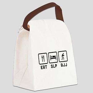 Eat Sleep BJJ Canvas Lunch Bag