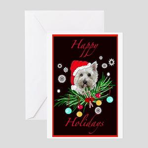 Westy Christmas Card Greeting Card