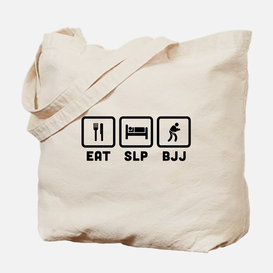 Eat Sleep BJJ Tote Bag