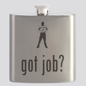 Work For Food Flask
