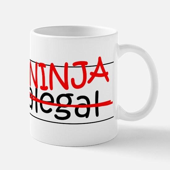 Job Ninja Paralegal Mug