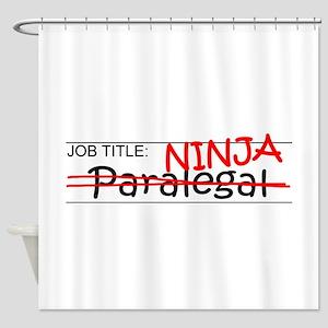 Job Ninja Paralegal Shower Curtain