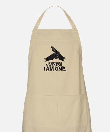 Don't Need Weapon Light Apron
