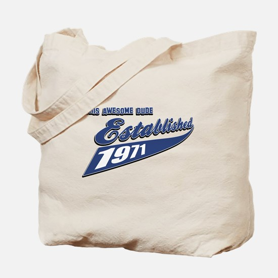 Established 1971 Tote Bag
