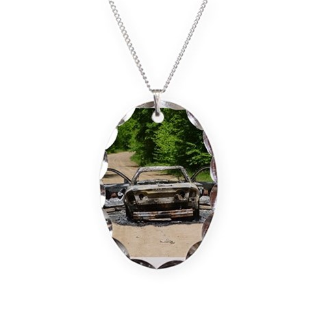 Burnt Car Necklace