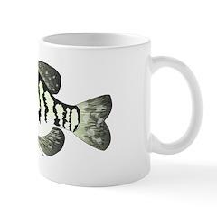 White Crappie sunfish fish Mug