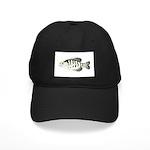 White Crappie sunfish fish Baseball Hat