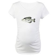 White Crappie sunfish fish Shirt