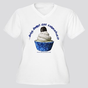 Big Boys Eat Cupcakes Plus Size T-Shirt