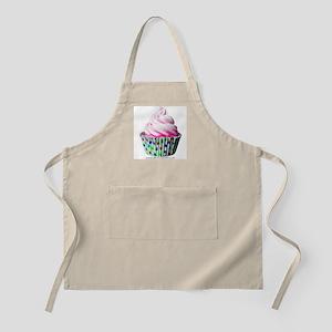 Pink Polka Dot Cupcake Apron