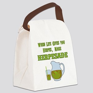 When Life Gives you Herpes Canvas Lunch Bag