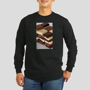 Stackable Long Sleeve Dark T-Shirt
