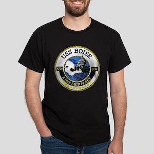 USS Boise SSN 764 Dark T-Shirt