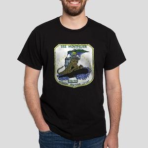 USS Montpelier SSN 765 Dark T-Shirt
