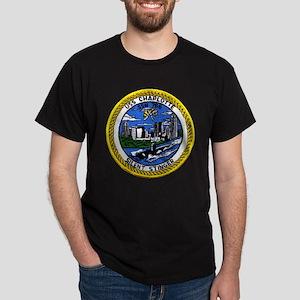 USS Charlotte SSN 766 Dark T-Shirt