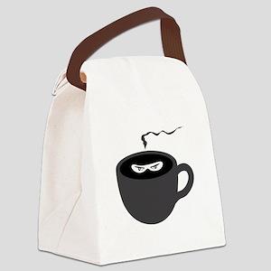 Coffee Ninja Canvas Lunch Bag