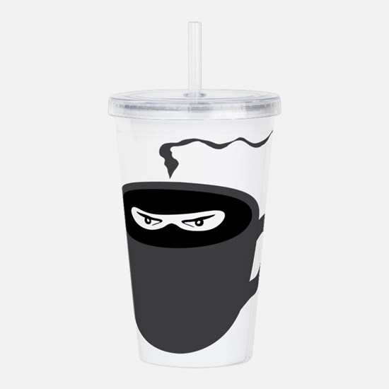 Coffee Ninja Acrylic Double-wall Tumbler
