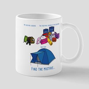My festival luggage Mugs