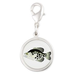 Black Crappie Sunfish fish Charms