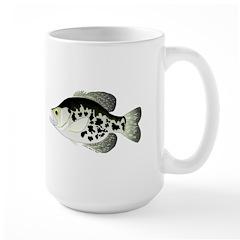 Black Crappie Sunfish fish Mug