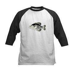 Black Crappie Sunfish fish Baseball Jersey
