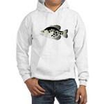 Black Crappie Sunfish fish Hoodie