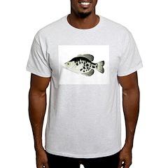 Black Crappie Sunfish fish T-Shirt