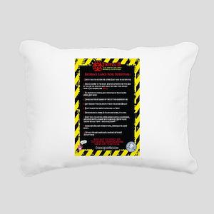 Bubbas Laws Rectangular Canvas Pillow