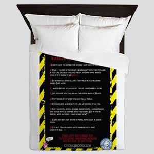 Bubbas Laws Queen Duvet