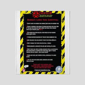 Bubbas Laws Throw Blanket